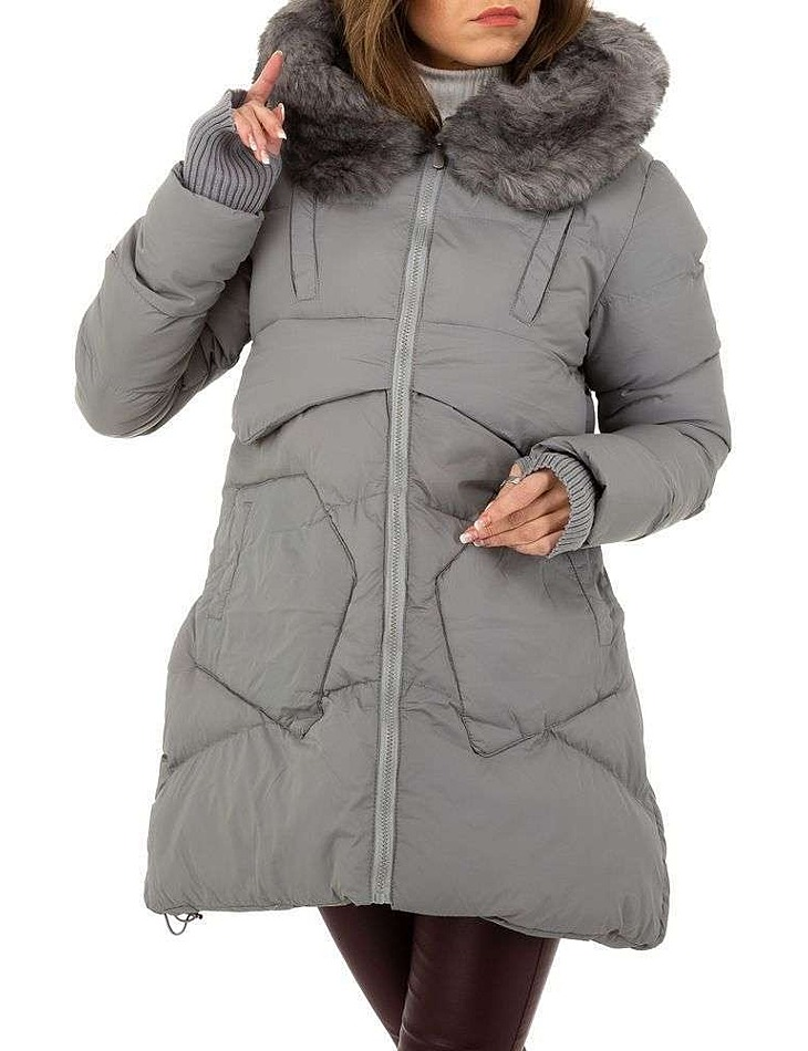 Dámsky zimný kabát vel. XL/42