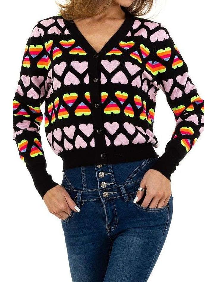 Dámsky prepínací pulóver