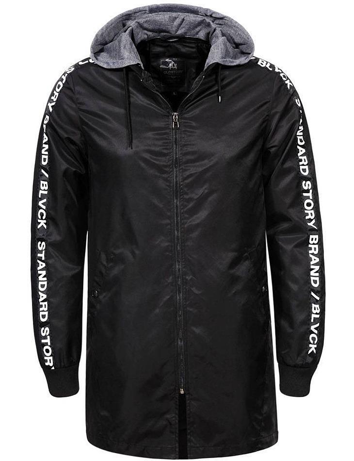 Pánsky fashion kabát s kapucňou vel. 56/58/XL