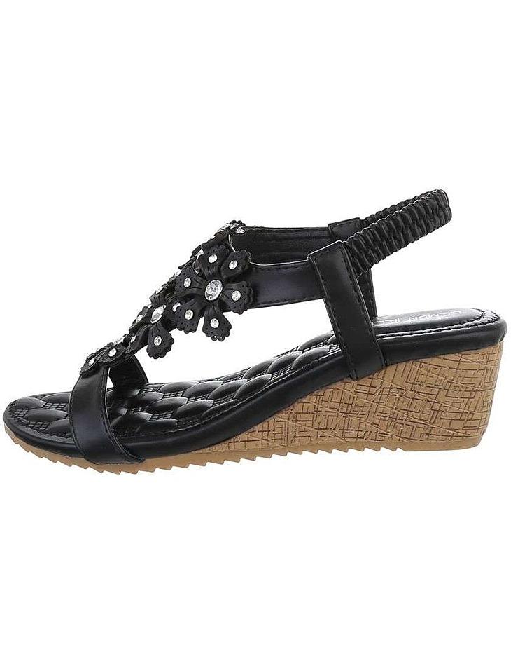 Dámske sandále na kline vel. 37