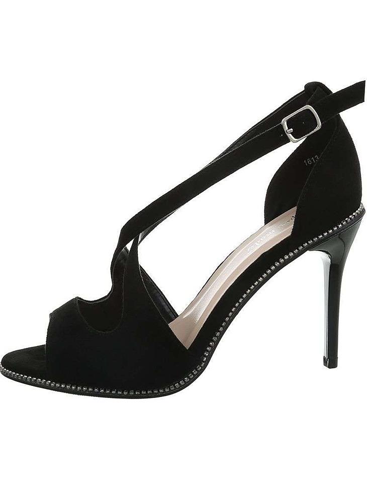 Dámske módne sandále na podpätku vel. 40