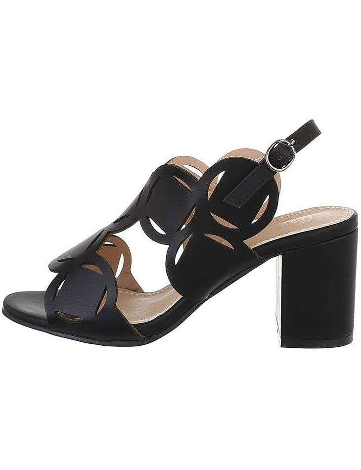 Dámske sandále na podpätku vel. 37