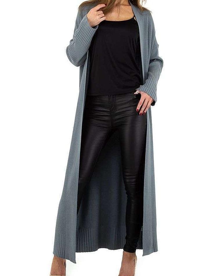 Dámsky dlhý cardigan