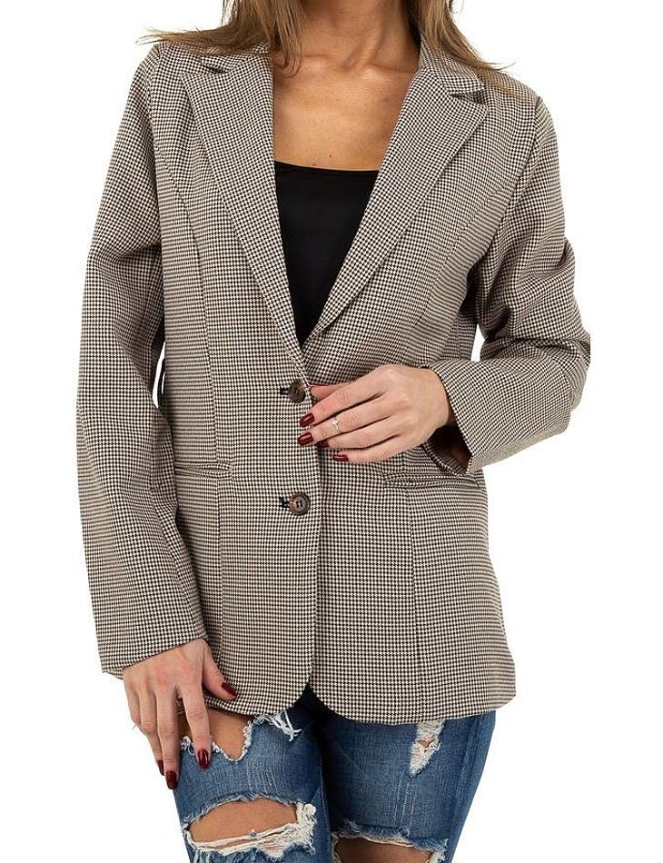 Dámsky pohodlný kabátik vel. M/38