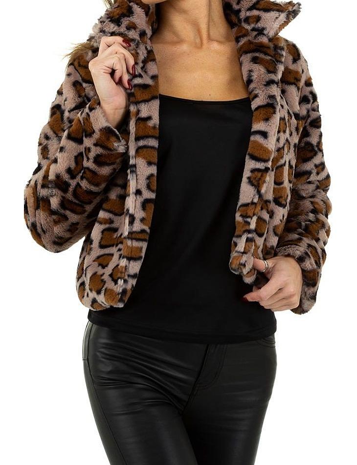 Dámsky leopardí kabátik vel. M/38