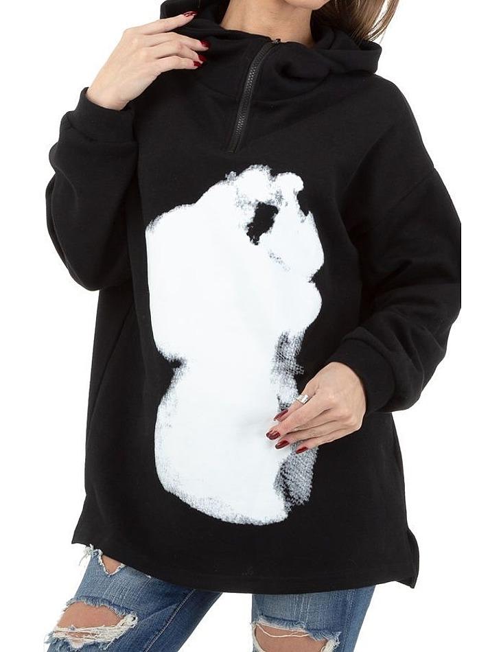 Dámska mikina s kapucňou