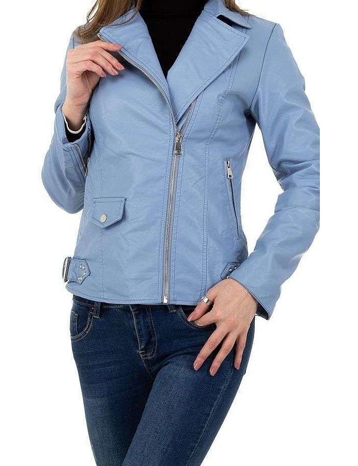 Dámska koženková bunda vel. XL/42