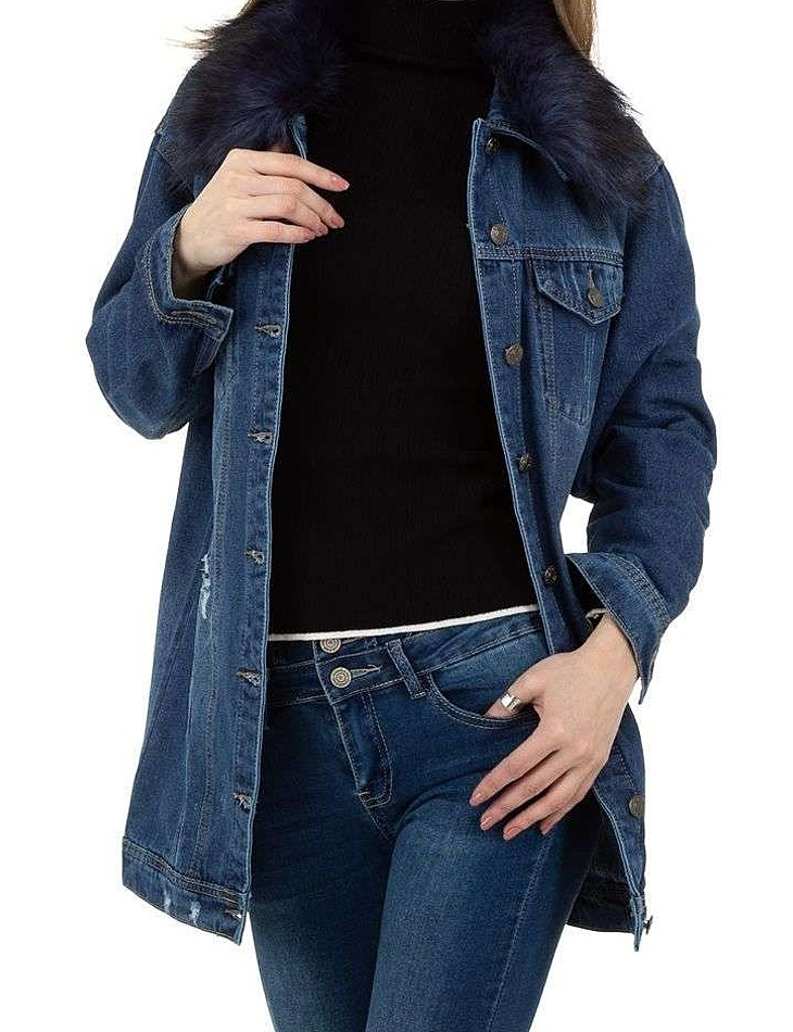 Dámsky jeansový kabát vel. L/40