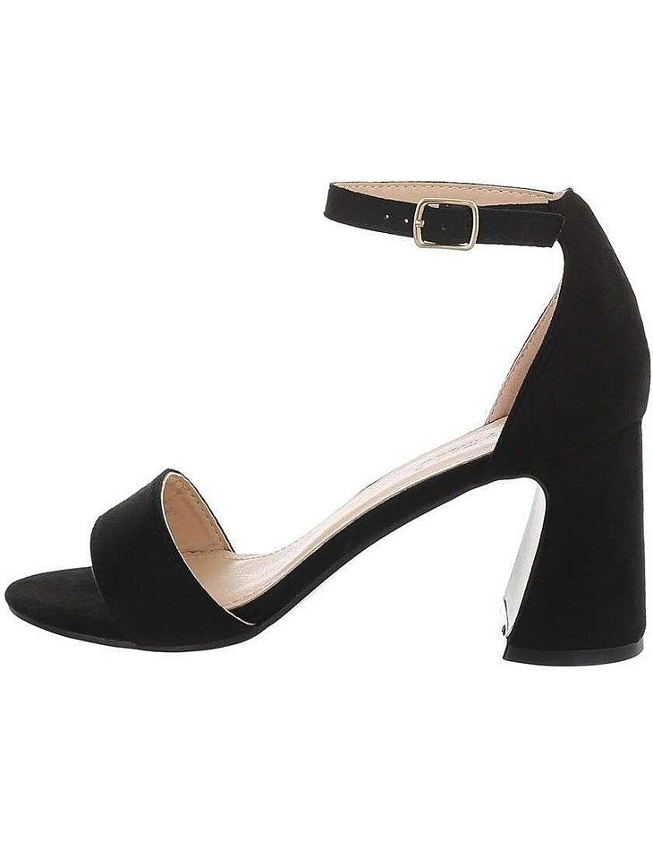 Dámske módne sandále na podpätku vel. 36