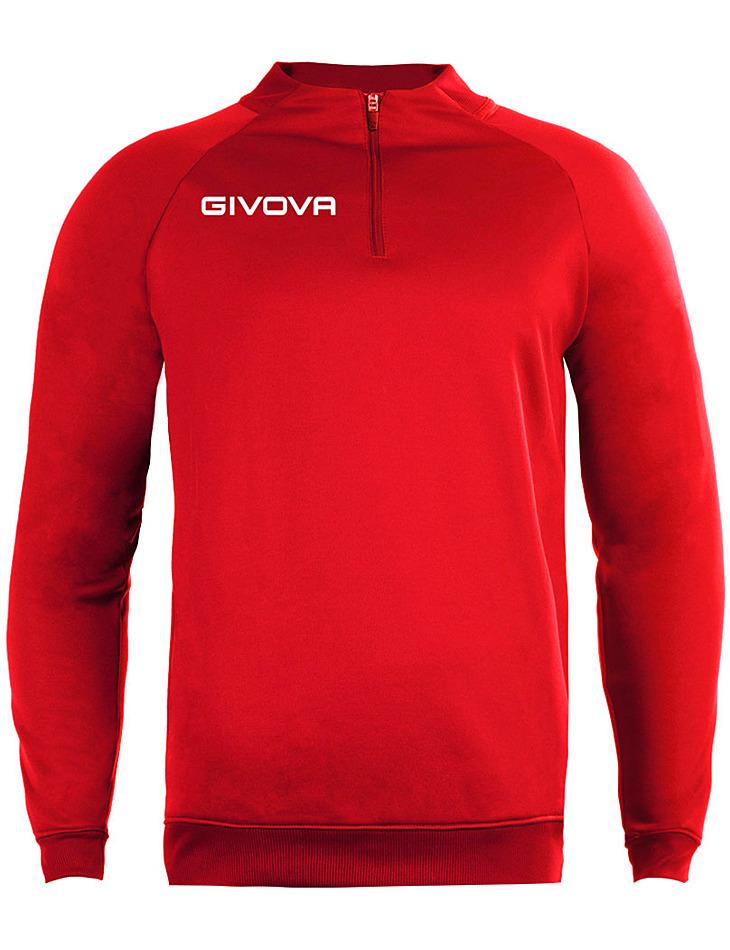 Červená mikina GIVOVA pánska vel. XL