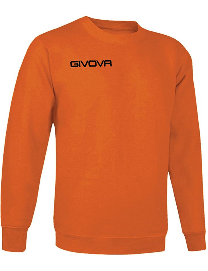 Oranžová mikina GIVOVA vel. XS