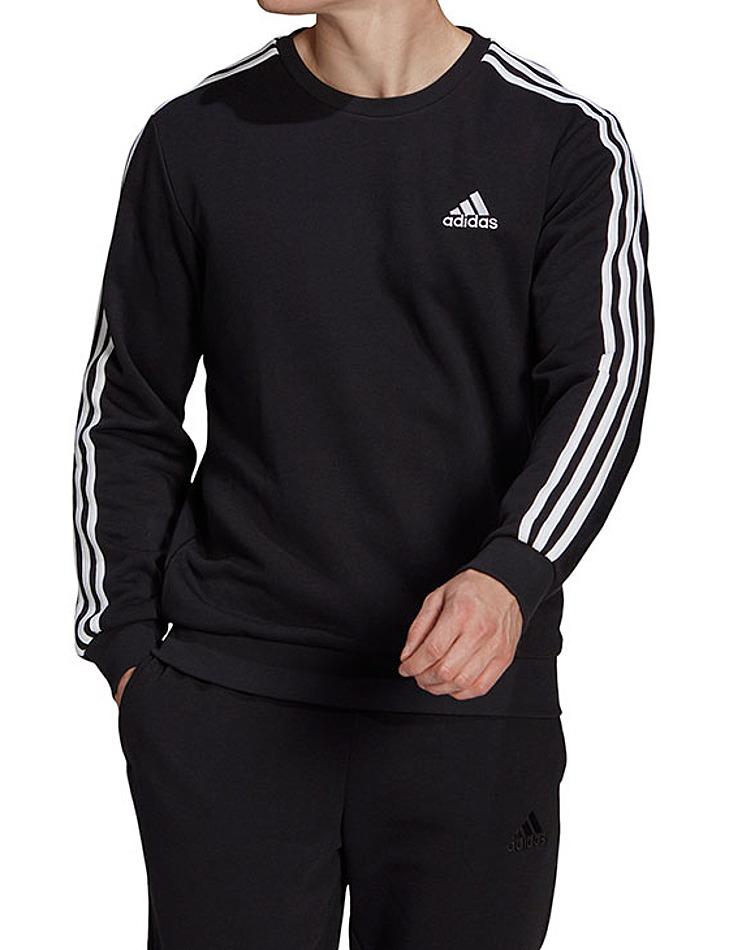 Čierna pánska mikina Adidas vel. L