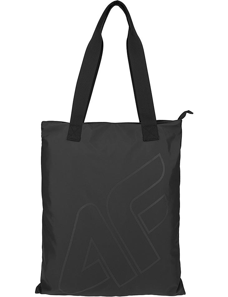 Plážová čierna taška 4F