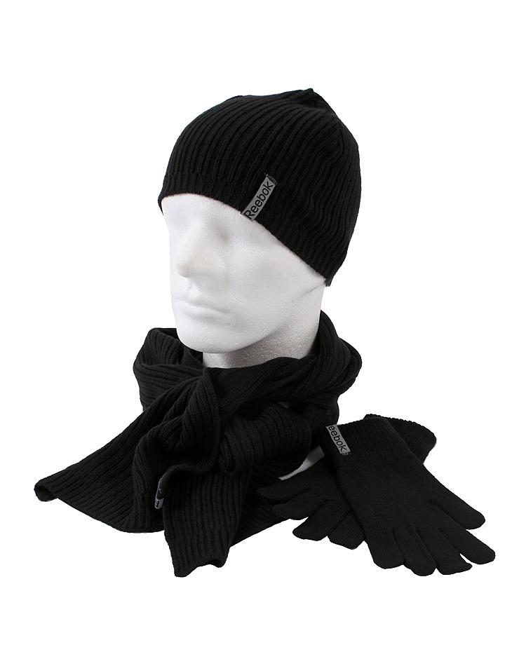 35539a1ae Pánska čiapka, šál + rukavice Reebok | Outlet Expert
