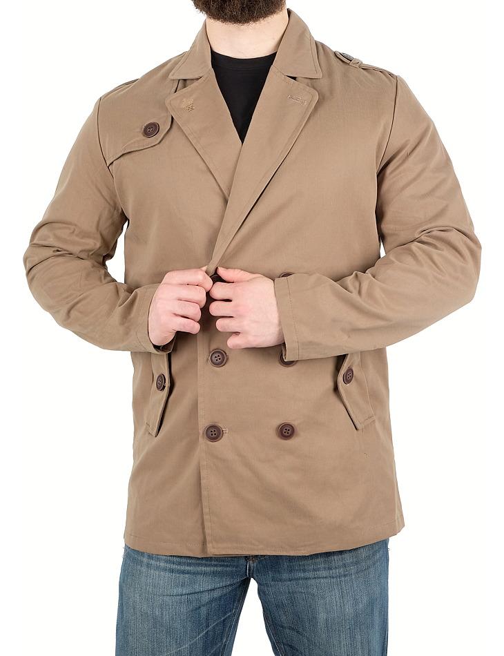 Pánsky elegantný kabát Soul Star vel. M