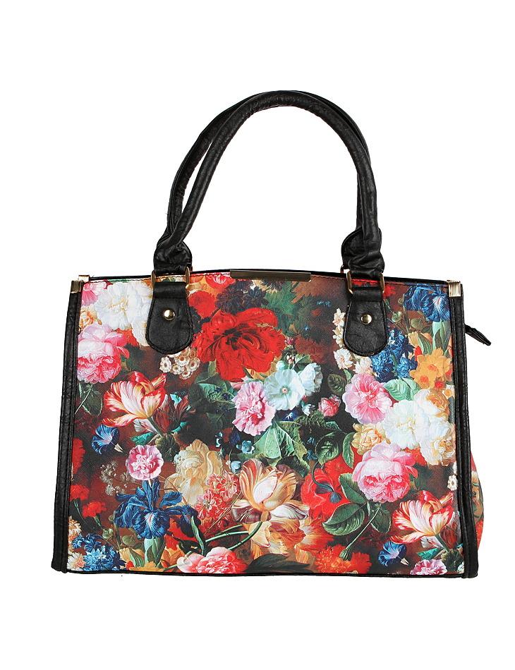 4ebacf760 Dámska kvetinová kabelka | Outlet Expert