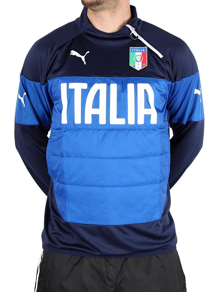 834e68daaedc3 Pánska futbalová mikina Puma Itália | Outlet Expert