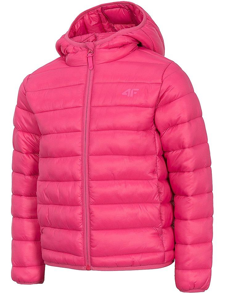 Dievčenská štýlová zimná bunda 4F vel. 164