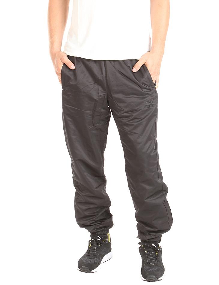 357b8ce1e732 Pánske čierne voĺnočasové nohavice Puma