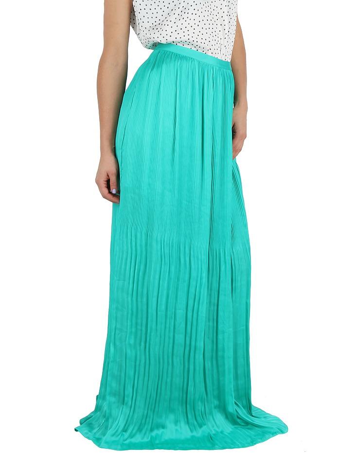 be622a953f38 Dámska dlhá plisovaná sukňa Guess