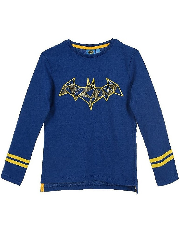 Batman tmavo modré chlapčenské tričko s dlhým rukávom vel. 98