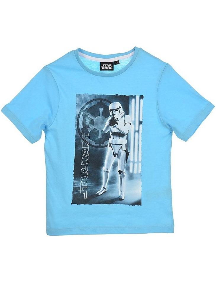 Star wars svetlo modré chlapčenské tričko vel. 116