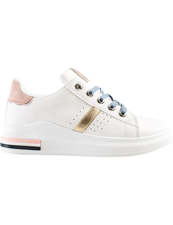 Biele dámske štýlové tenisky vel. 36