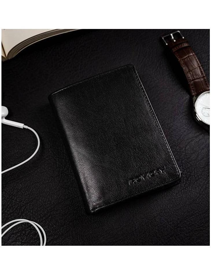 Rovicky darčeková sada peňaženky a opasku - čierna vel. ONE SIZE