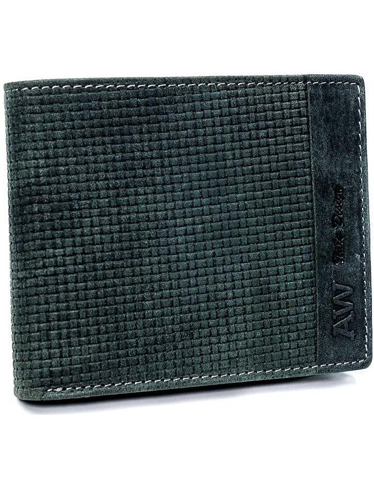 Always wild® čierna pánska kožená peňaženka vel. ONE SIZE