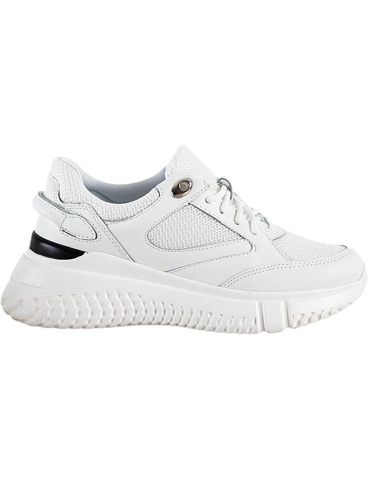 Biele dámske tenisky na platforme vel. 40