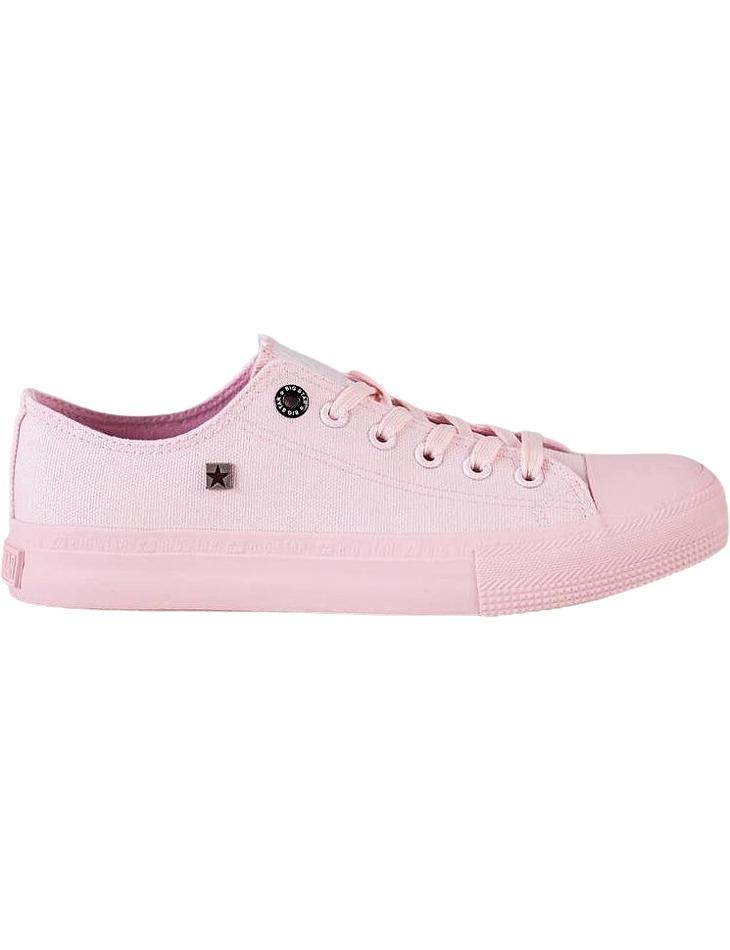 Big star svetlo ružové dámske plátené tenisky vel. 37