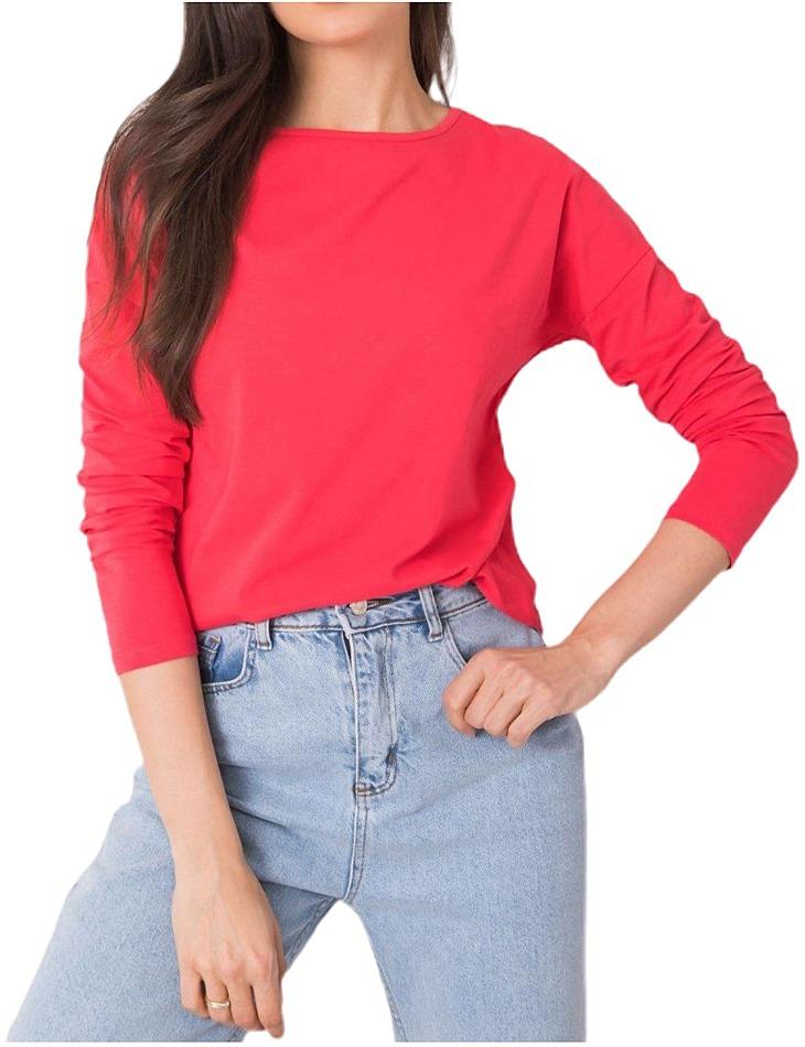 červené dámske tričko vel. L