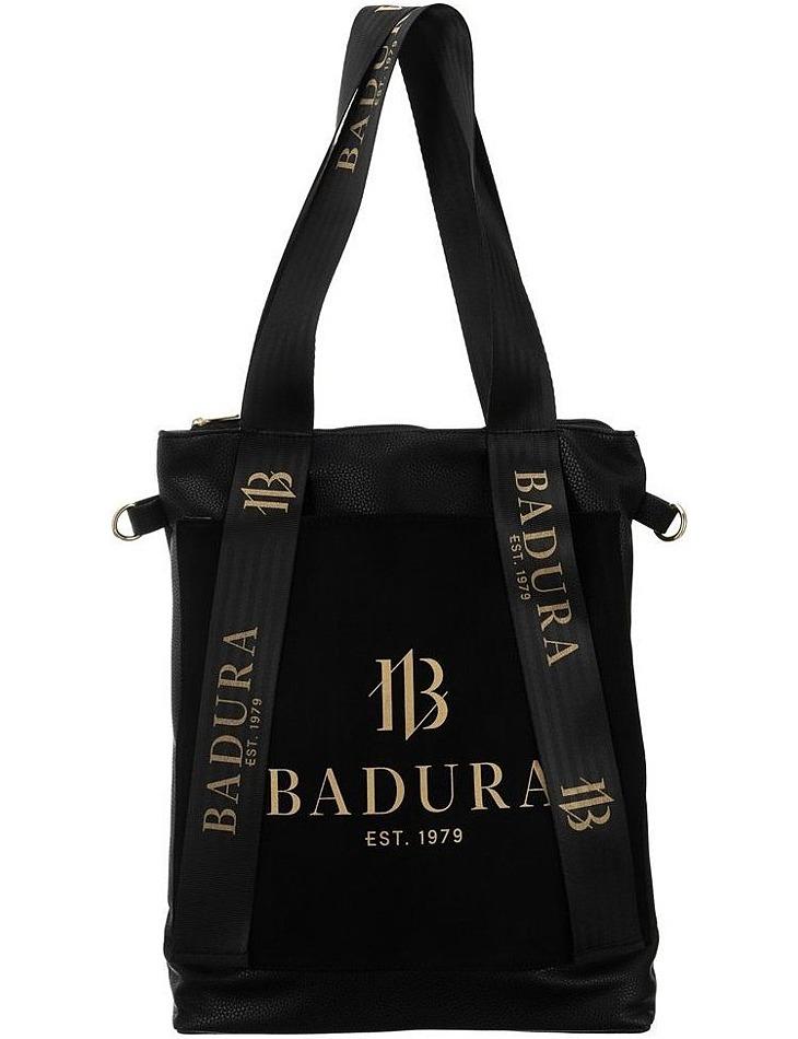 Badura čierna kabelka s výrazným logom vel. ONE SIZE