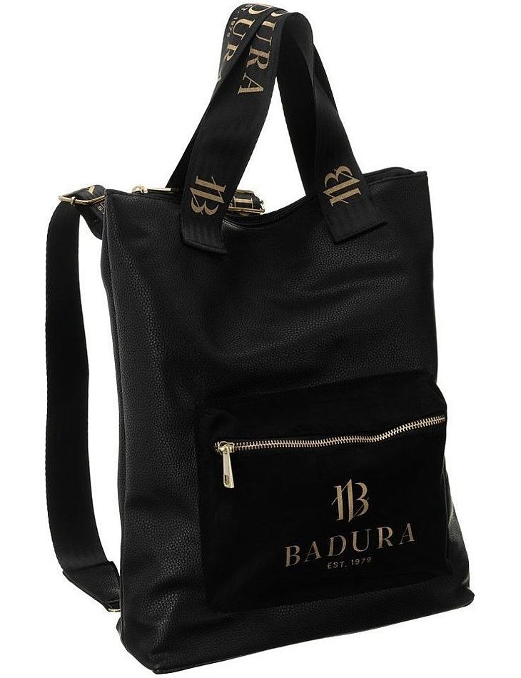 Badura čierna kabelka s funkciou batohu vel. ONE SIZE