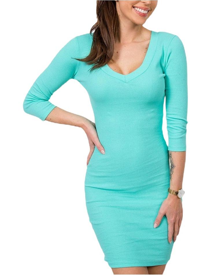 Dámske modré šaty vel. M