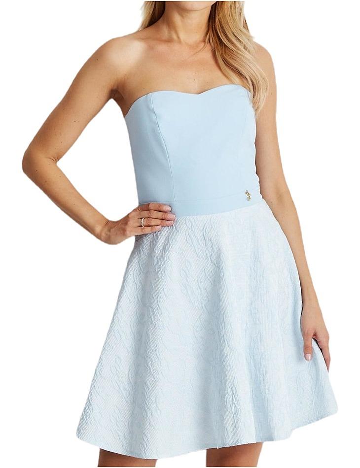 Dámske modré šaty vel. 40