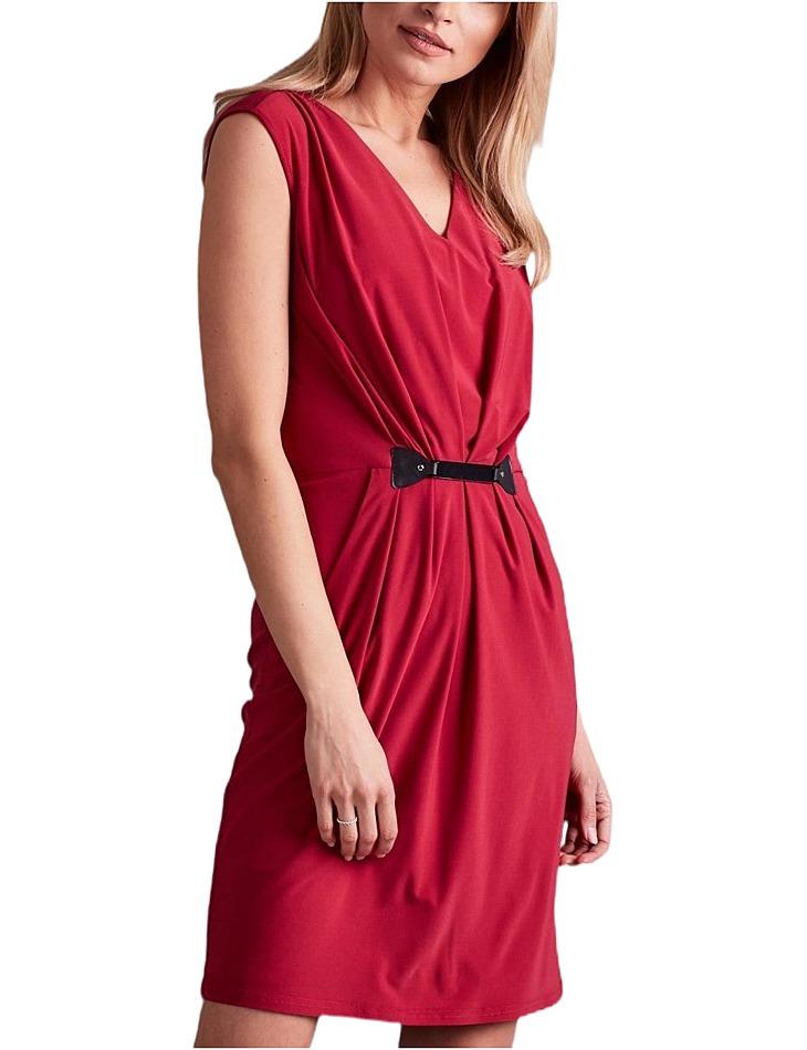 Dámske ružové spoločenské šaty vel. 38