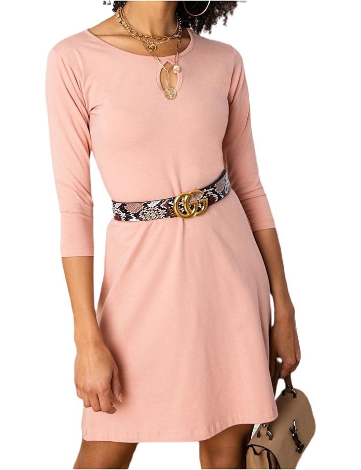 Dámske ružové šaty vel. M