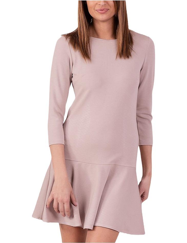 Dámske béžové šaty vel. 38