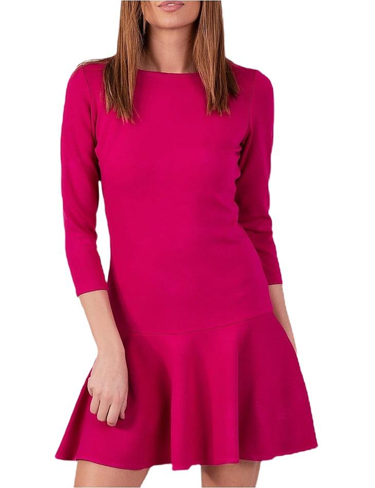 Dámske ružové šaty vel. 38