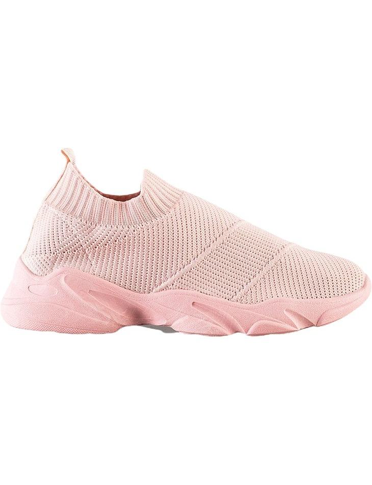 Ružové pohodlné nazúvacie topánky vel. 40