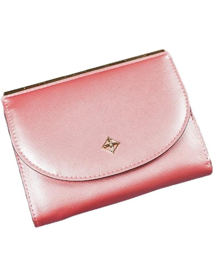 Milano dizajn menšie ružová retro peňaženka vel. ONE SIZE