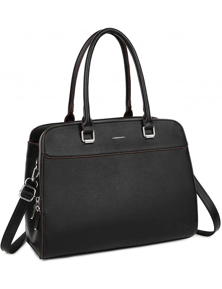čierna elegantná kabelka vel. ONE SIZE
