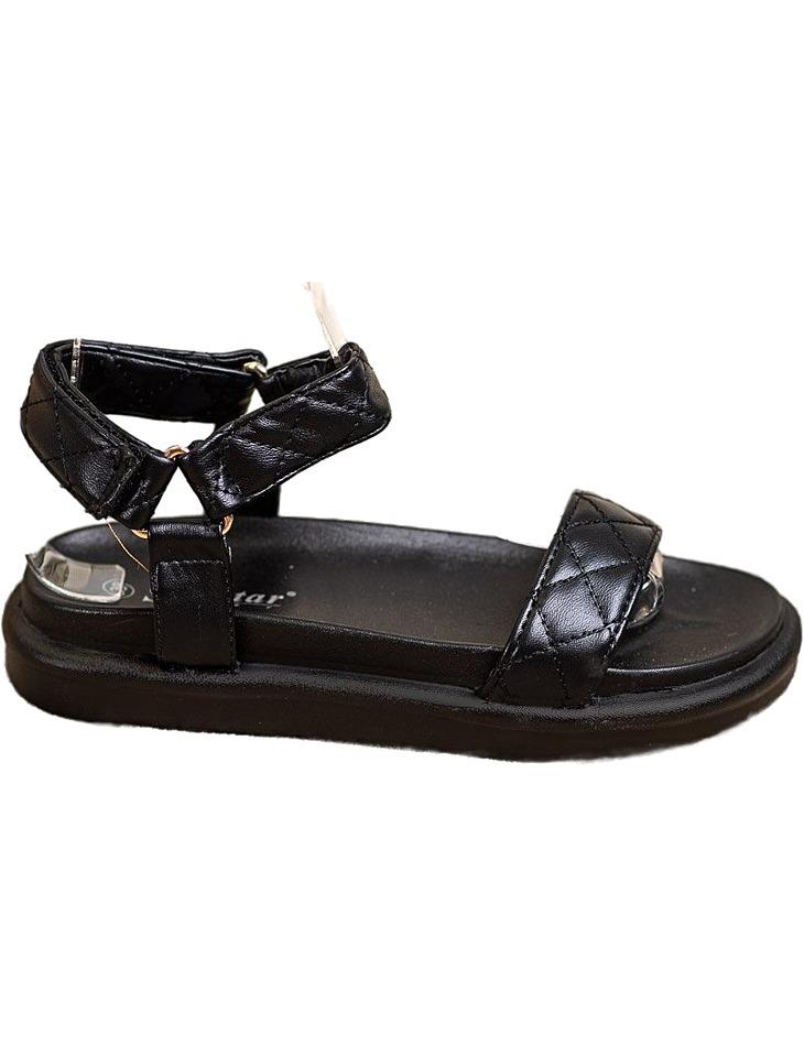 čierne pohodlné sandálky vel. 36