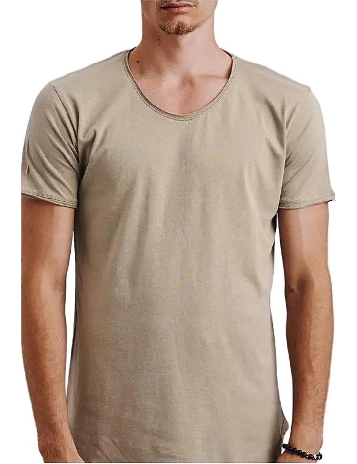 Khaki pánske tričko vel. L
