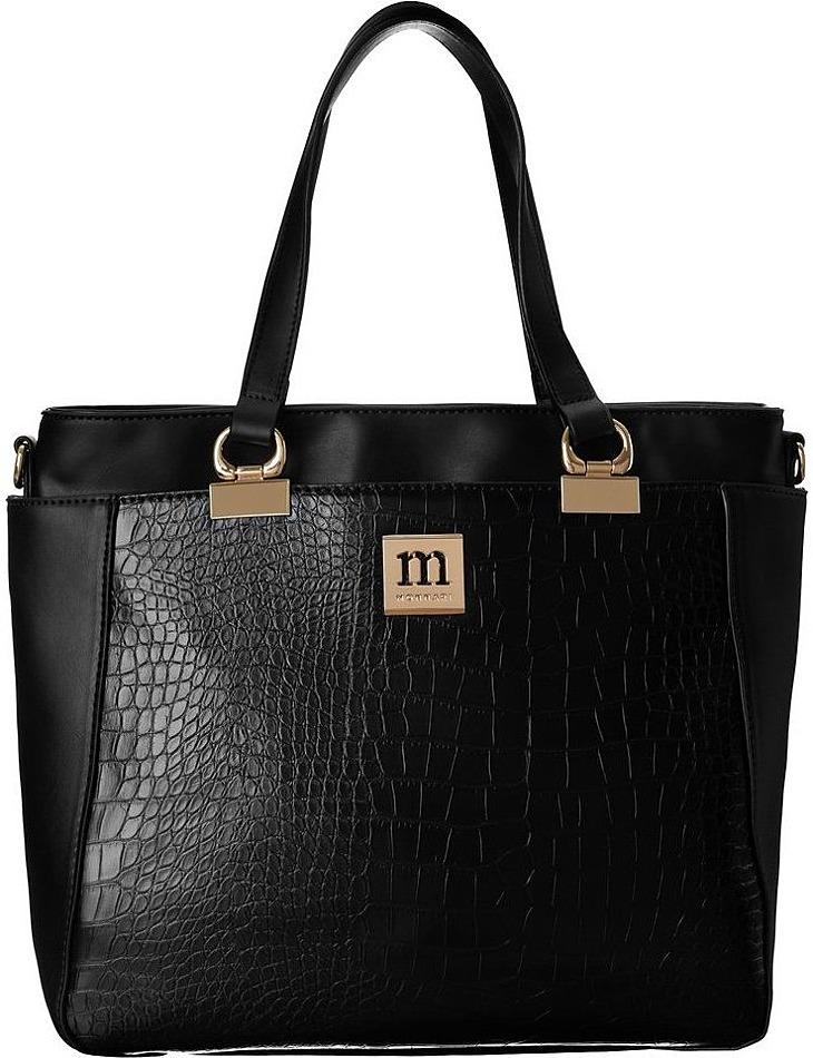 čierna dámska kabelka 2v1 monnari vel. ONE SIZE