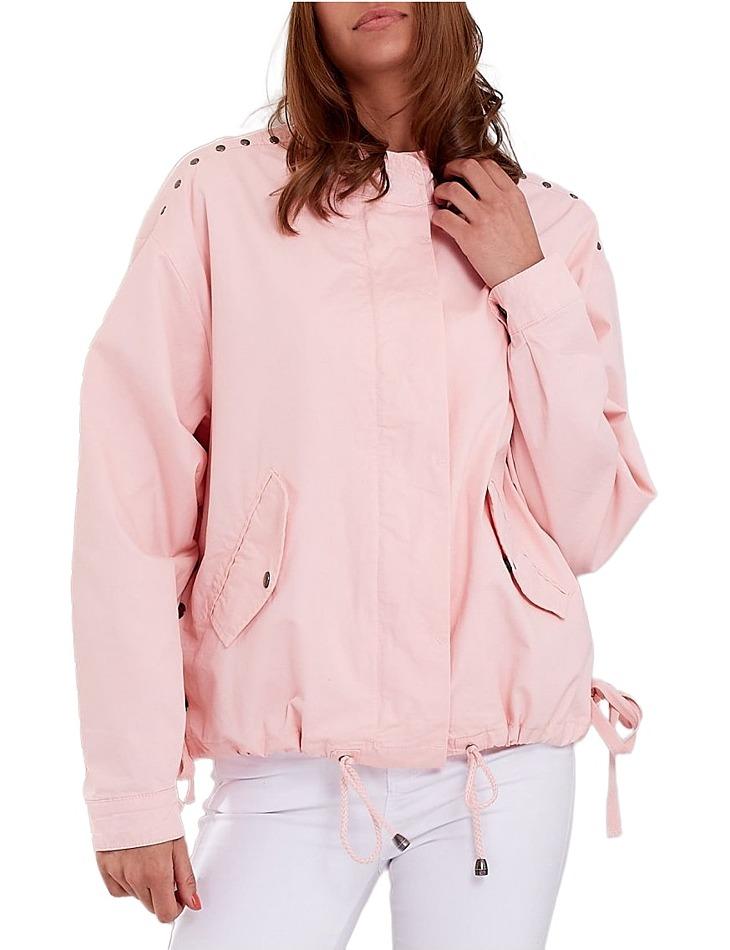Dámska ružová bunda vel. L
