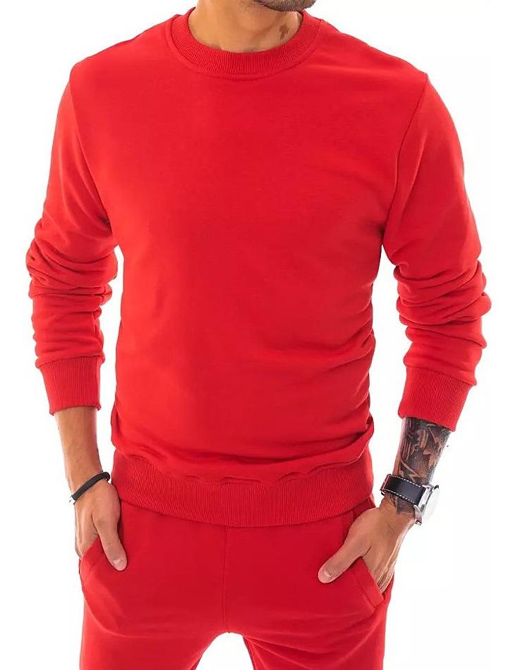 červená pánska mikina vel. XL