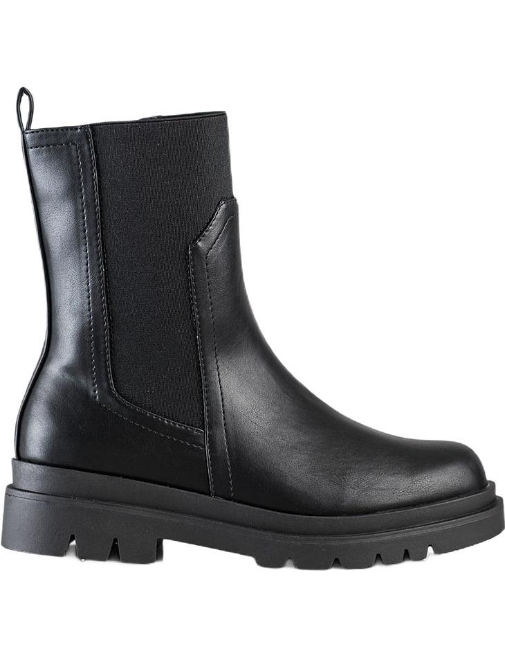 čierne vysoké topánky vinceza vel. 36