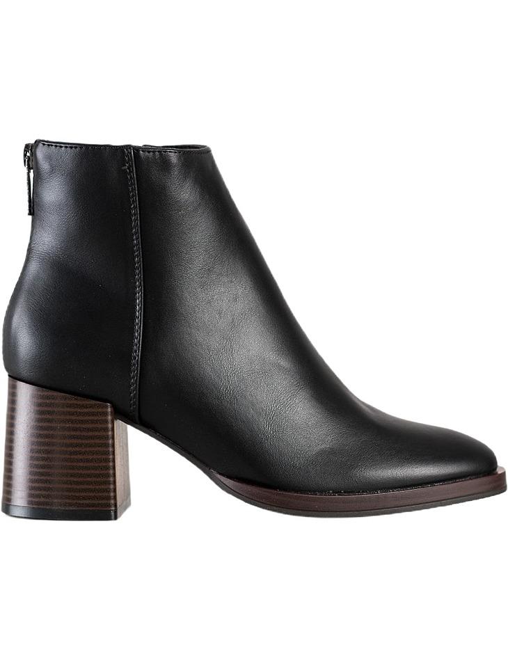 čierne klasické topánky Sergio Leone vel. 36